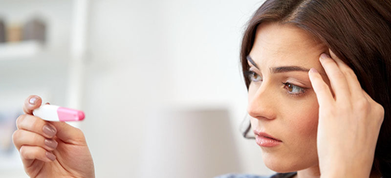 Artykuł na temat przyczyn niepłodności. Grafika na okładkę